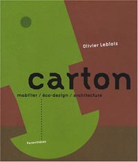 Carton - mobilier / éco-design / architecture